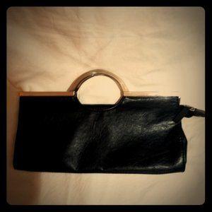 Vintage Candie's Leather Handbag